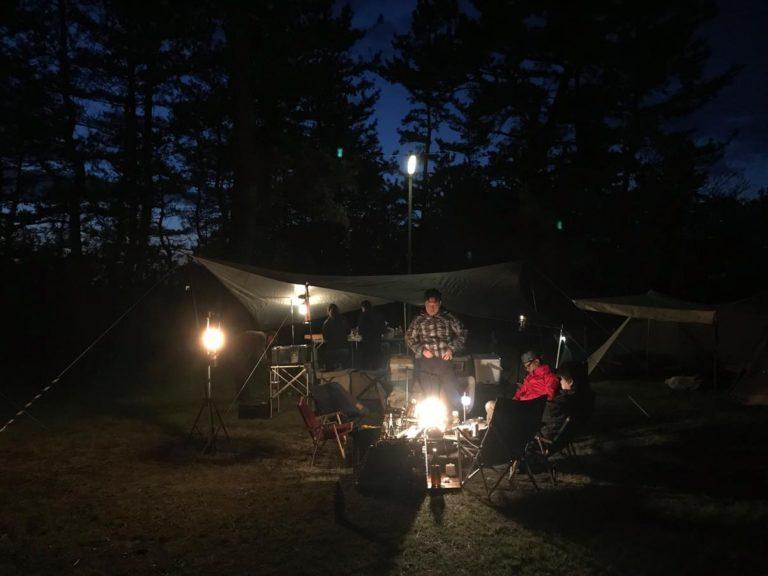 キャンプ2泊3日@大潟キャンプ場