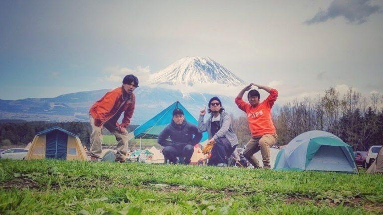 キャンプ(1泊)|ふもとっぱらキャンプ場