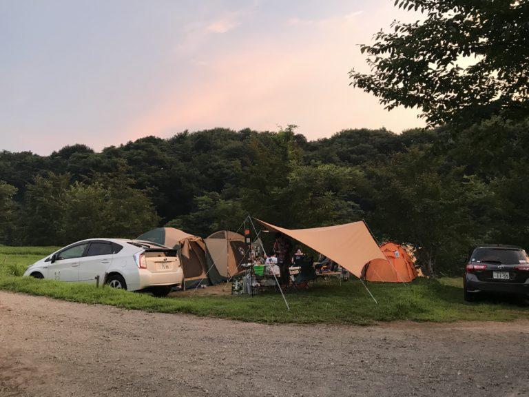 キャンプ1泊|上毛高原キャンプ場